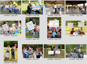 You can browse the many images of the Tea Party that are available for purchase as prints